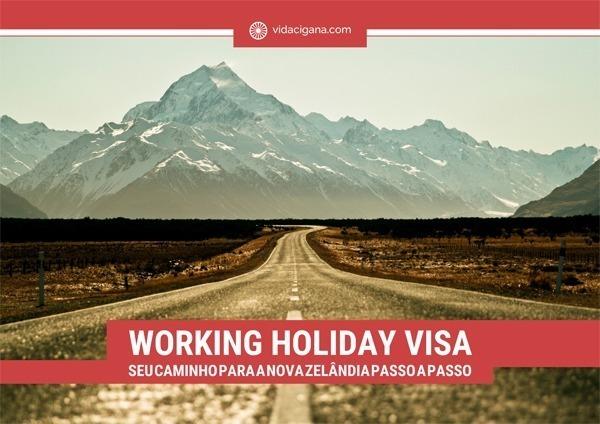 Ebook Working Holiday Visa Nova Zelândia para brasileiros