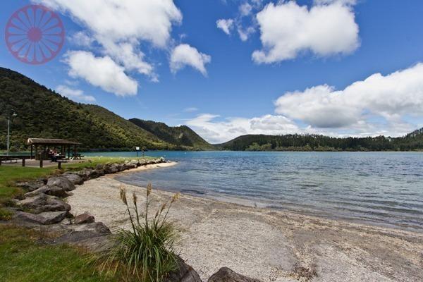 Lagos Rotorua, Tarawera, Verde e Azul
