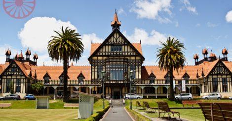 Museu de Rotorua, Bay of Plenty