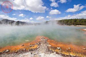 Wai-o-Tapu thermal park, Rotorua