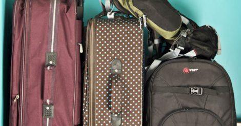 como não organizar a bagagem vida cigana