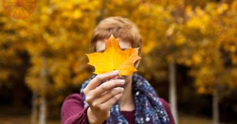 Outono em Arrowtown Vida Cigana