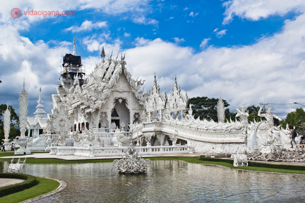 Chiang Rai Templo Branco Tailândia-16