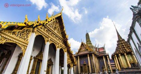 Onde ficar em Bangkok: Templos com telhados dourados na capital da Tailândia