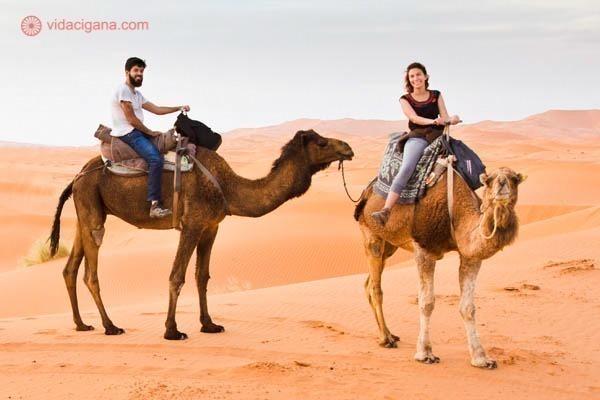 viagem pelo deserto do saara no marrocos