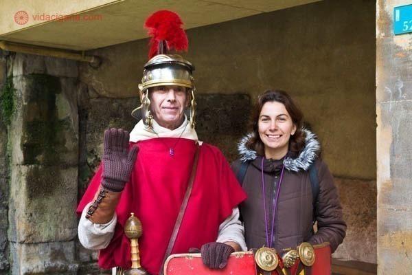 Termas romanas de Bath, na Inglaterra