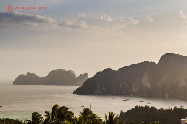 As ilhas Phi Phi na foto