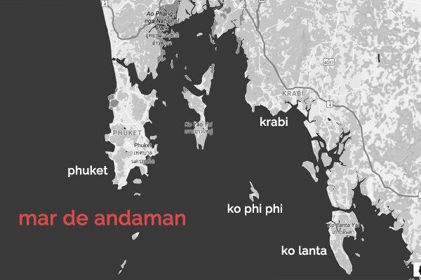 roteiro Tailândia - ilhas do mar de andaman