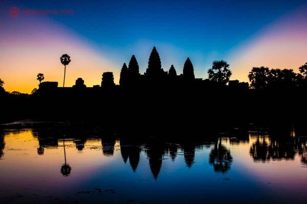 Templos de Angkor no Camboja