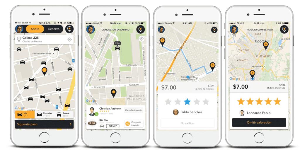 o que é e como funciona a cabify, app rival da uber
