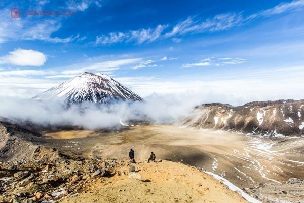 os principais pontos turísticos da nova zelândia: o tongariro alpine crossing