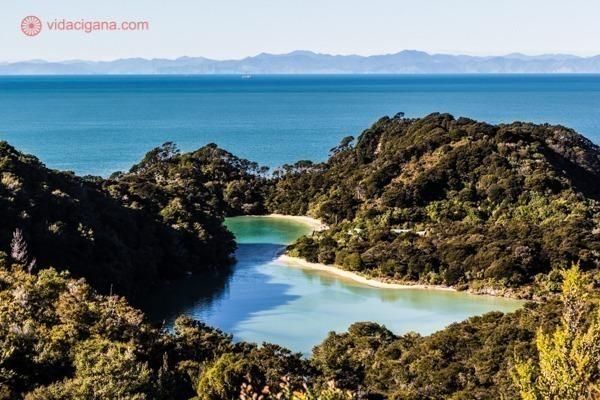 os principais pontos turísticos da nova zelândia: o parque nacional abel tasman