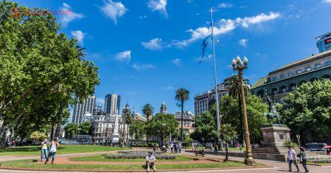 roteiro em buenos aires: a plaza de mayo onde estão a casa rosada, o cabildo e a catedral