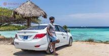 Aluguel de carro em Aruba: Nada melhor do que viajar por uma ilha de carro, parando a cada praia nova, a cada paisagem para poder observar e fotografar.