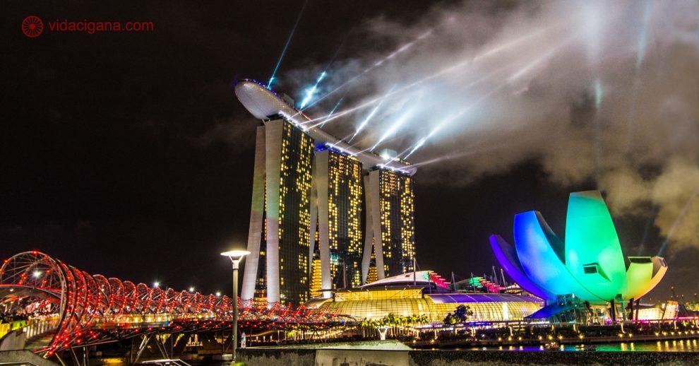 Onde ficar em Cingapura: A Marina Bay durante o Ano Novo