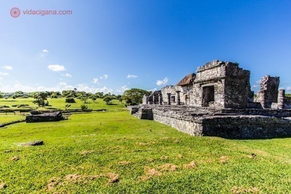 As ruínas de Tulum, no México