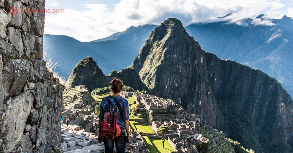 Seguro Viagem Anual: A vista de Machu Picchu do alto