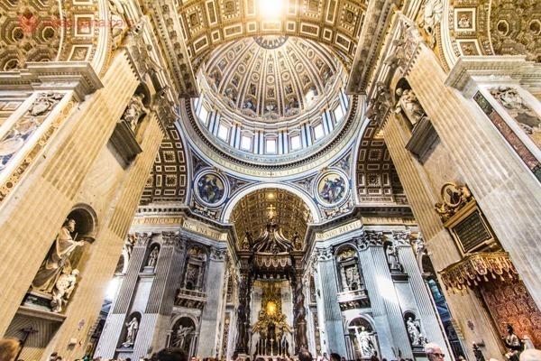 Roteiro de 4 dias em Roma: A Basílica de São Pedro, no Vaticano