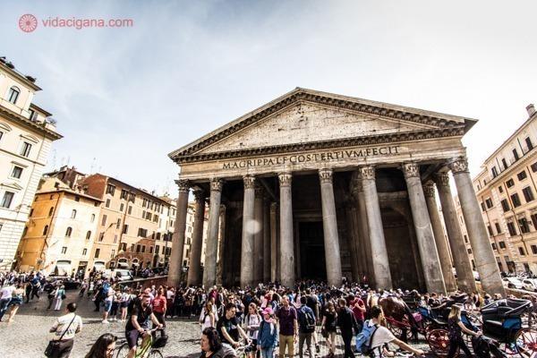 Roteiro de 4 dias em Roma: O famoso Panteão