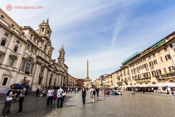 Roteiro de 4 dias em Roma: A praça Navona
