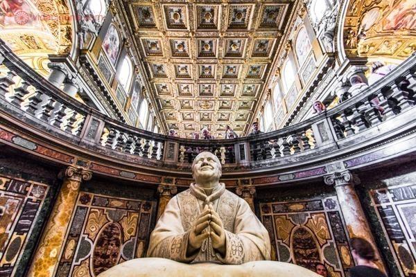 Roteiro de 4 dias em Roma: O interior da Basílica de Santa Maria Maior