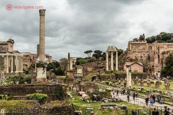 Roteiro de 4 dias em Roma: O magnífico Fórum Romano
