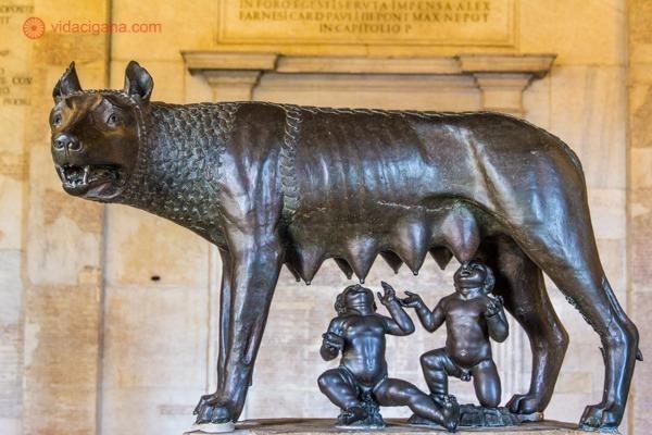 Roteiro de 4 dias em Roma: A Lupa Capitolina