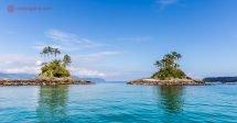 O que fazer em Angra dos Reis: Ir de barco até as Ilhas Botinas mergulhar é uma das opções mais incríveis