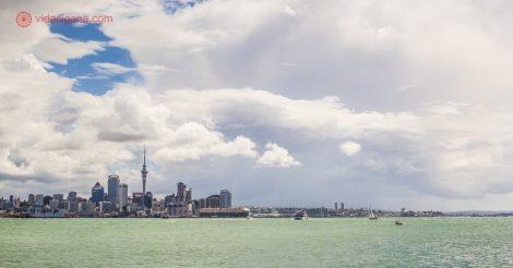 Passeios em Auckland: O centro da cidade visto de Devonport
