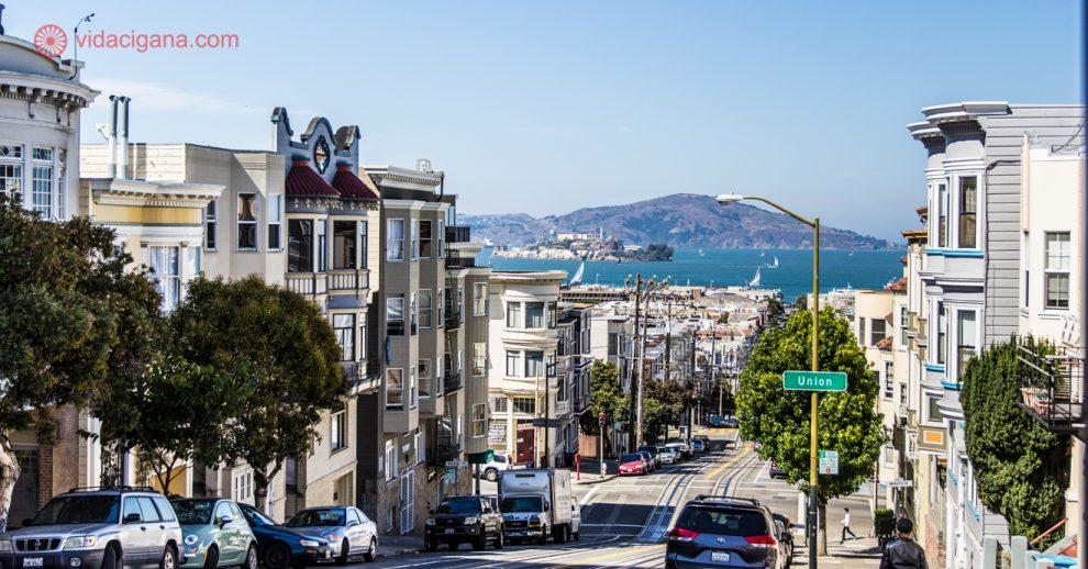 Onde ficar em San Francisco: as lindas colinas da cidade com vista para a baía