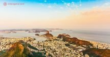 Onde ficar no Rio de Janeiro: A vista da cidade do Cristo Redentor