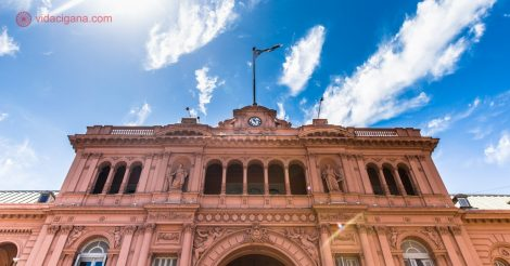 Seguro Viagem na Argentina: A Casa Rosada, sede do governo argentino