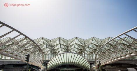 Parque das Nações, Lisboa: A linda estação Gare do Oriente, projetada por Santiago Calatrava