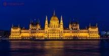 O que fazer em Budapeste: passear pela beira do Danúbio a noite é a melhor parte