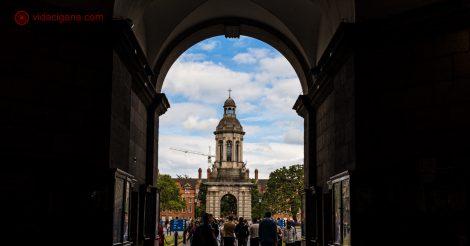 O que fazer em Dublin: O campus da Trinity College é um dos locais mais visitados pelos turistas