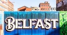 Onde ficar em Belfast: Um street art nas ruas de Belfast, na Irlanda do Norte