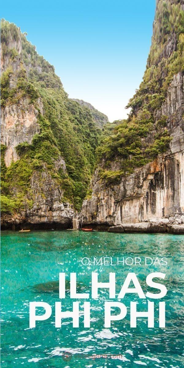 Saiba tudo o que você precisa saber sobre as Ilhas Phi Phi, na Tailândia, com informações sobre todas as ilhas, os tipos de passeios, melhores praias e onde se hospedar.