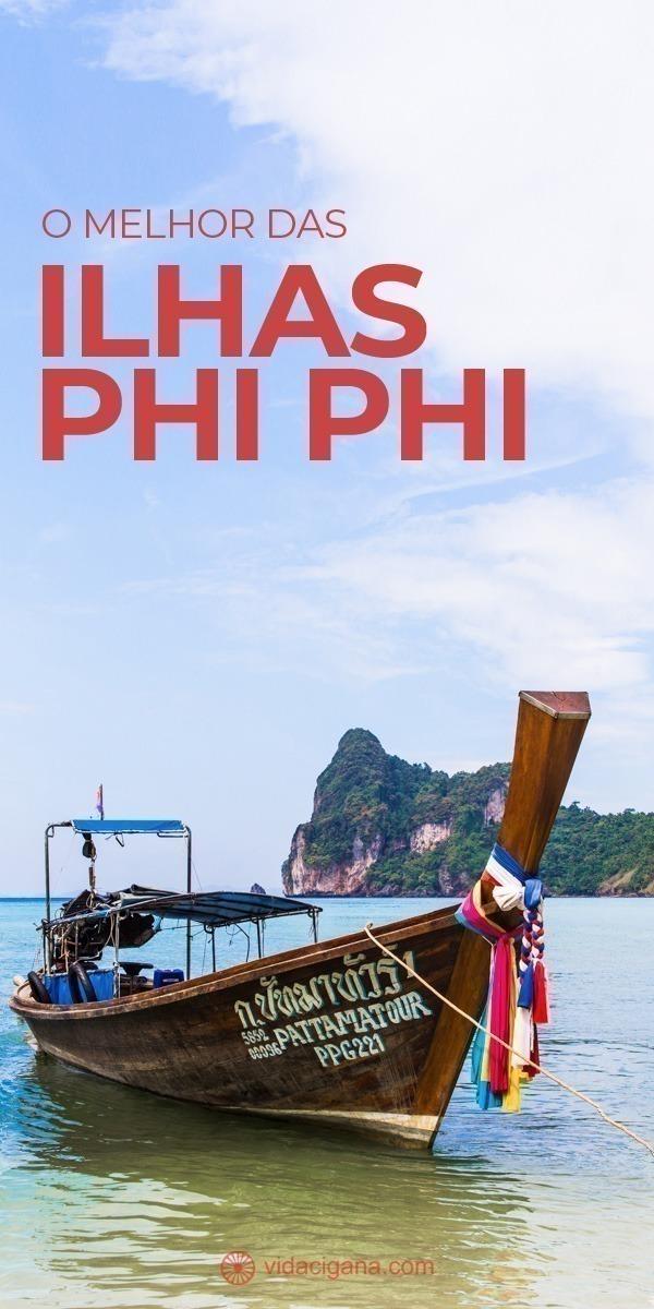 Todas as dicas sobre as Ilhas Phi Phi, na Tailândia, com as melhores praias, como chegar até elas, o melhor deslocamento até lá, onde se hospedar e informações atualizadas sobre o turismo de lá.