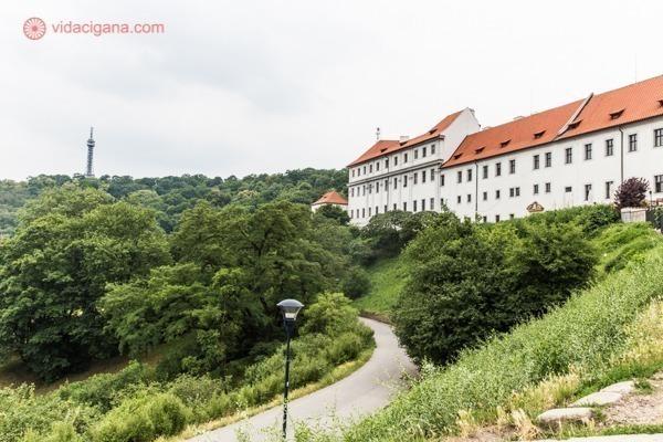 O Mosteiro de Strahov visto de fora