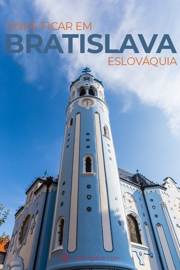 Onde ficar em Bratislava: Centro Antigo, Cidade Nova, Colina do Castelo, Igreja Azul. Todos os locais ficam no bairro mais antigo da cidade (Stare Mesto). Bratislava é uma cidade com atrações tão concentradas numa área pequena que não vale a pena reservar hotéis em nenhuma outra localização.