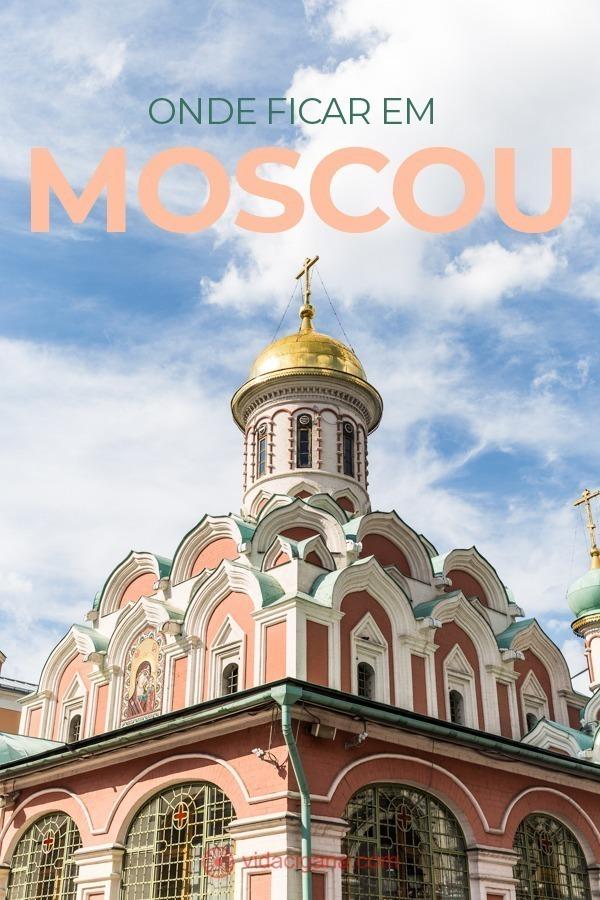 Saiba onde ficar em Moscou, conheça os melhores bairros e todas as vantagens de ficar em cada um deles.