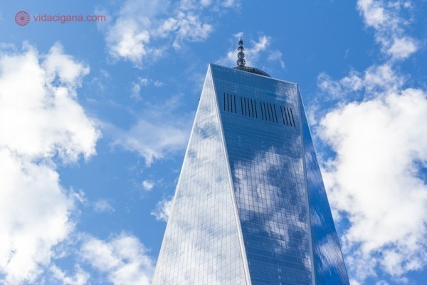 Memorial 11 de setembro, em Nova York: o One World Trade Center