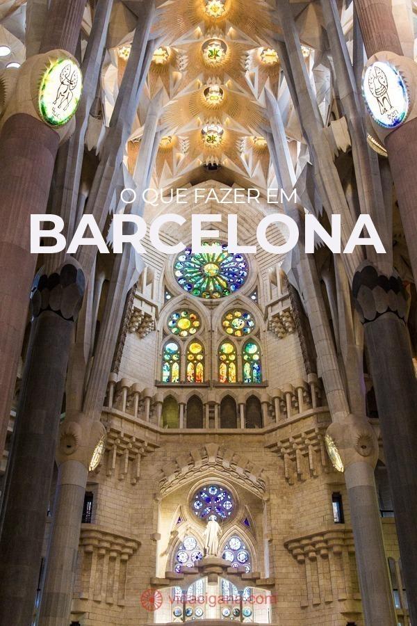 Há muito o que fazer em Barcelona. A capital da Catalunha é a mais visitada da Espanha e agrega vários tipos de atrações turísticas diferentes, que vão desde o Império Romano até os dias atuais. A cidade já era famosa, mas ganhou notoriedade internacional por ter sido anfitriã dos Jogos Olímpicos de 1992, o que fez com que ela se tornasse uma das principais atrações da Espanha. Nesse texto separei as atrações mais importantes na hora de saber o que fazer em Barcelona.