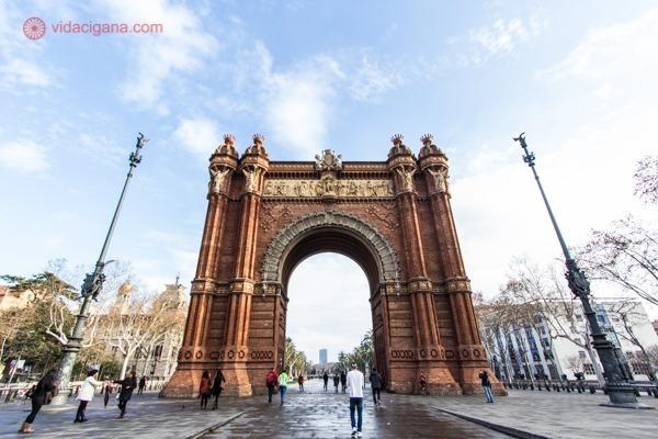 O que fazer em Barcelona: o Arco do Triunfo