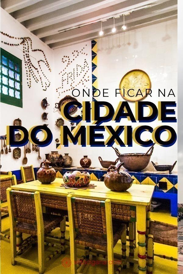 Todas as dicas de onde ficar na Cidade do México, com todos os bairros, perto das melhores atrações, para todos os tipos de bolsos e gostos. Criamos um guia para ajudá-lo a escolher os melhores hoteis e albergues.
