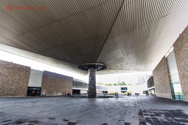 Onde ficar na Cidade do México: O Museu de Antropologia da Cidade do México