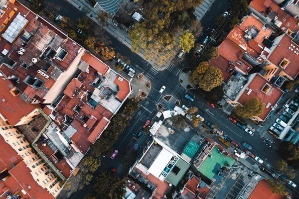 Onde ficar na Cidade do México: ruas da capital mexicana vistas de cima