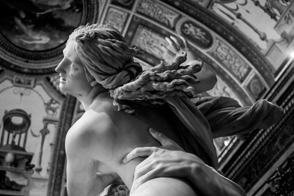 o interior da Galleria Borghese