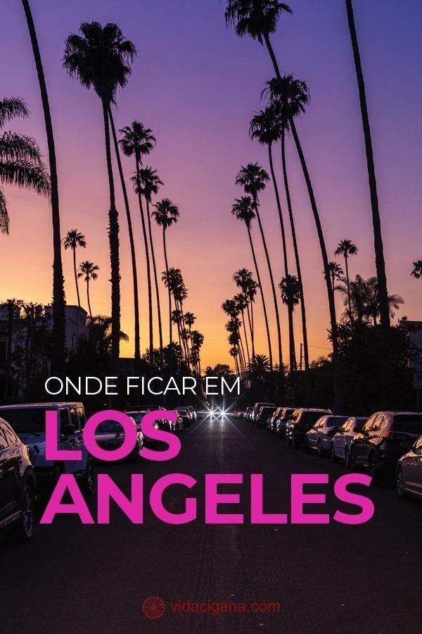 """Para não errar na hora de escolher onde ficar em Los Angeles é preciso avaliar primeiro o orçamento que você tem à disposição e os lugares que deseja visitar durante seus dias na cidade. Assim, saber onde encontrar uma boa hospedagem em LA faz muita diferença para o planejamento de sua viagem, pois a cidade é enorme e possui regiões completamente distintas umas das outras. São praias fantásticas e opções imperdíveis de entretenimento somadas ao fato de abrigar várias celebridades e artistas que tornam a """"cidade dos anjos"""" um dos destinos mais procurados dos Estados Unidos."""