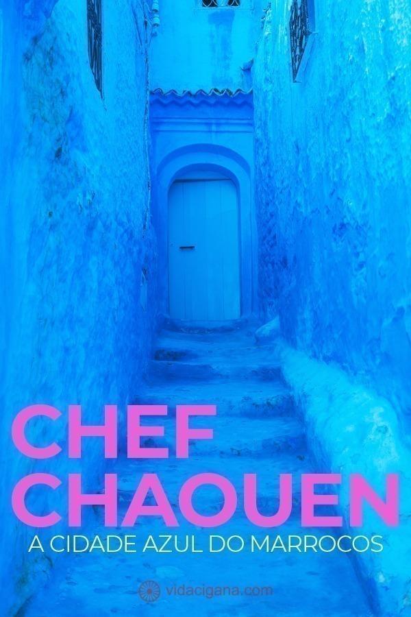 Saiba tudo o que precisa para visitar Chefchaouen, a cidade azul do Marrocos, um dos destinos mais instagramados do mundo, onde todas as suas ruelas são azuis e atraem turistas que querem sair com fotos bonitas de suas viagens.